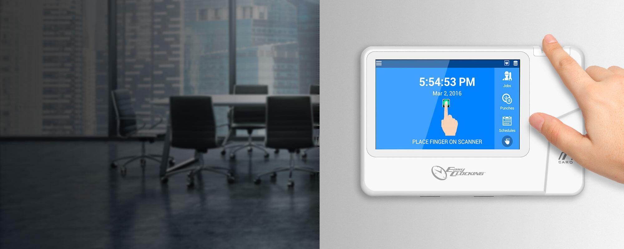 EasyClocking | Time & Attendance - Employee Time Clocks