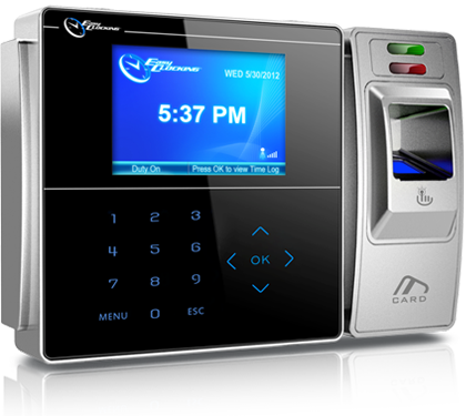 EasyClocking EC500 Advanced Fingerprint Time Clock