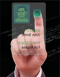 EasyClocking Card and Biometric Fingerprint Graphic