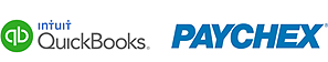 Easy Clocking Paychex and Quickbooks Integration Logos