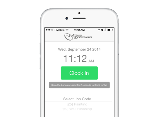 EasyClocking | Time & Attendance Software - Mobile Time Clock