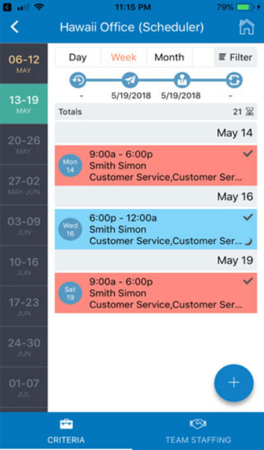 Schedule smarter and faster no matter where you are