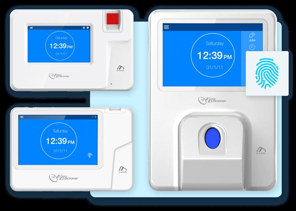 Easy Clocking Xenio 200, Xenio 500 and Xenio 700 Fingerprint Clocks
