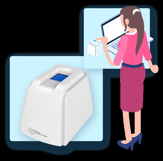 Bringing fingerprint technology to your tablet or PC