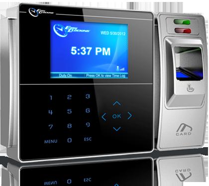 Easy Clocking EC500 Advanced Fingerprint Time Clock